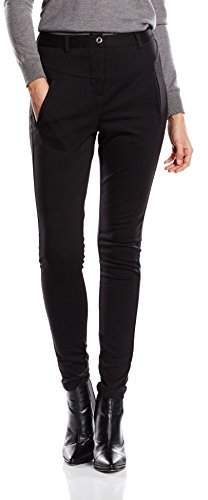 Kaffe Women's India Pant Trousers, Schwarz (Black deep 50600)