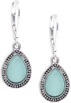 Nine West Faux Turquoise Drop Earrings