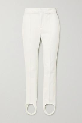 MONCLER GRENOBLE Sportivo Stirrup Ski Pants - White
