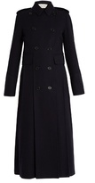 Valentino Martingale-back double-breasted coat