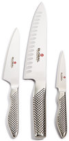 Global Stainless Steel 3-Pc. Anniversary Knife Set