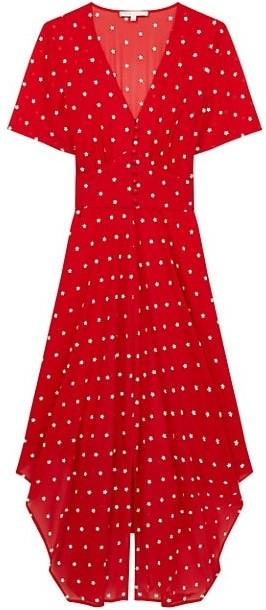 Maje Raola Floral Embroidered Dress