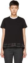 Sacai Black Layered T-Shirt