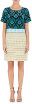 Mary Katrantzou WOMEN'S BENYON SHIFT DRESS-YELLOW SIZE 8 UK