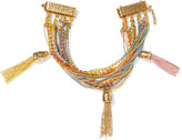 Rosantica Arcobaleno gold-tone cubic zirconia bracelet
