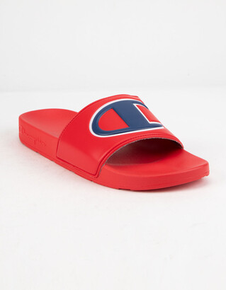 Champion IPO Red Mens Sandals