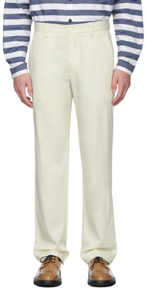 Sunnei Beige Straight Trousers