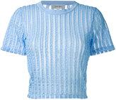 Carven mini sweater - women - Cotton/Polyester/Spandex/Elastane - L