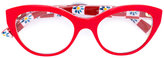 Dolce & Gabbana Mambo print glasses