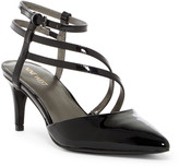 Nine West Saelig Strappy Mid Pump