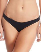 Marysia Swim Newport Minimal-Coverage Solid Swim Bikini Bottom