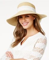 Nine West Scarf-Band Packable Sun Hat