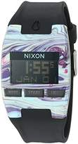 Nixon Men's 'Comp' Plastic and Silicone Automatic Watch