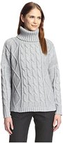 Six Crisp Days Women's Cable Turtleneck Sweater