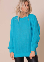Missy Empire Mysha Fishermans Knit Baggy Jumper