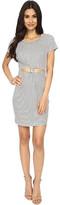 Brigitte Bailey Graceanne Short Sleeve Front-Knot Dress