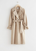 Thumbnail for your product : And other stories Relaxed Double Breasted Trench Coat