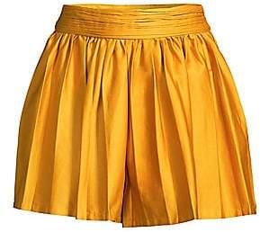 AMUR Women's Tami Pleated Shorts