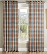 Montgomery Kirkwall Duck Egg Lined Eyelet headed Curtains 229*137