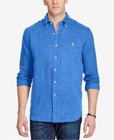 Polo Ralph Lauren Men's Big & Tall Classic-Fit Ocean-Wash Shirt