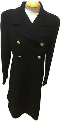 Loewe Black Wool Coats