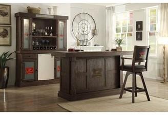 "ECI Furniture Miller High Life 30"" Swivel Bar Stool (Set of 2 Furniture"