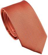 Herobehavior Ties with Blue Dots Plaids/Checks Necktie Skinny Tie 7cm