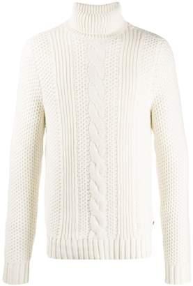 Michael Kors cable-knit turtleneck jumper