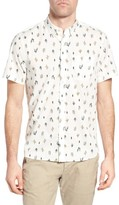 Michael Bastian Men's Cactus Print Sport Shirt