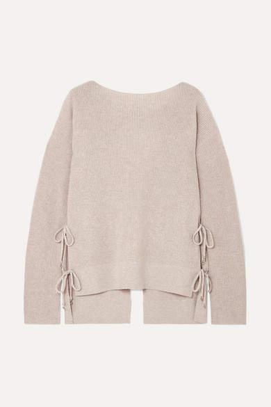 e659f305425e14 Tie Back Sweater - ShopStyle