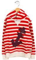 Scotch & Soda Boys' Striped Hooded Sweatshirt w/ Tags
