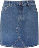 Dorothy Perkins Mid Wash Denim Mini Skirt