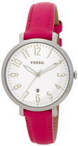 Fossil Women&s Jacqueline Leather Strap Watch
