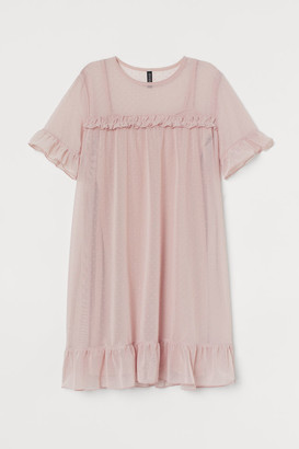 H&M Mesh Dress - Pink