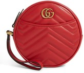 Gucci Leather Marmont Matelasse Wrist Wallet