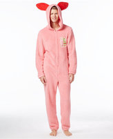 Briefly Stated Men's Ralphie's Bunny Suit Hooded Jumpsuit Pajamas