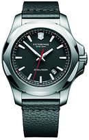 Victorinox I.n.o.x Date Leather Strap Watch