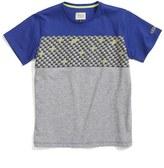 Armani Junior Boy's Logo Stripe T-Shirt
