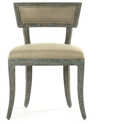 Zentique Ayer Side Chair Upholstery: Sage Green