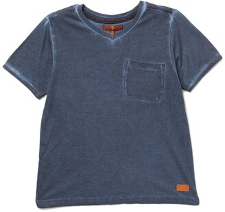 7 For All Mankind V-Neck Tee