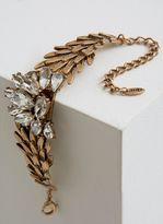 Mint Velvet Godl Tone Cluster Statement Bracelet