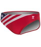 "TYR American Flag Male 2"" Racer 8119122"