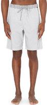 Hanro Geometric-print Cotton Shorts
