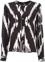 Theory printed blouse
