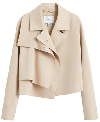 Cuyana Cropped Trench