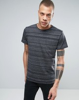 Cheap Monday Standard T-shirt Stripe Spacedye Black