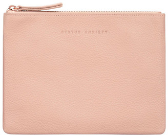 Status Anxiety SA1634 Fake It Zip Top Pouch
