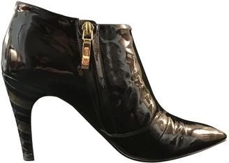 Louis Vuitton Purple Patent leather Ankle boots