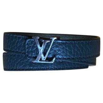 Louis Vuitton Green Leather Bracelets