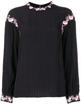 Steffen Schraut floral embroidery blouse - women - Viscose - 36